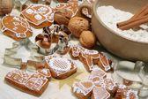 Biscotti di panpepato — Foto Stock
