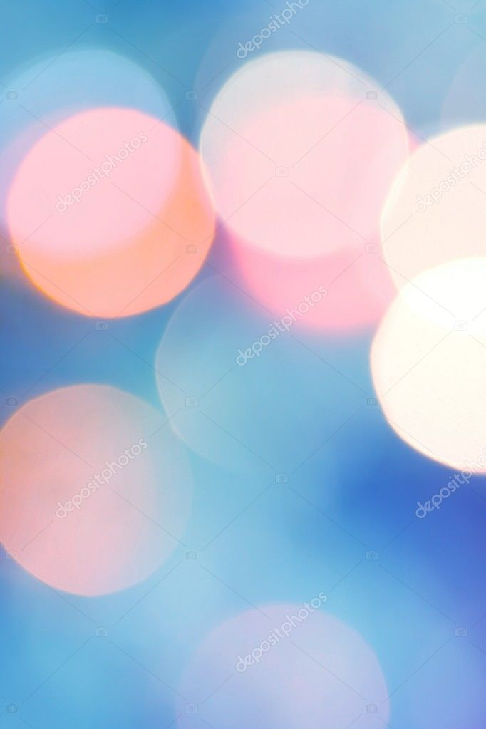 Abstract background of candlelights for Christmas  Stock Photo #2529401