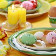 easter table setting — Stock Photo #2647493