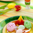 easter table setting — Stock Photo #2647517