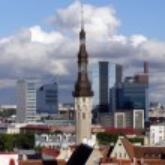 The Tallinn town hall — Stock Photo #2235570