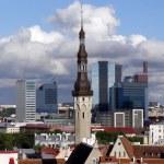 The Tallinn town hall — Stock Photo