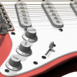 Royalty-Free Stock Photo: Electric guitar