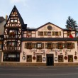 ancient hotel in small town altenahr — Stock Photo