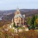Drachenburg castle in Germany — Stockfoto