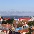 Foto Stock: Roofs of old Tallinn