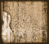 Guitar background — Stock Photo