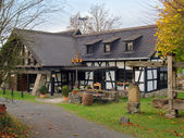 Country Half-Timbered House in Germany — Stock Photo