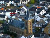 Cityscape of Dernau — Stock Photo