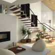 Stock Photo: 3d interior