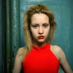 Fine art portrait of elegant girl — Stock Photo #2319339