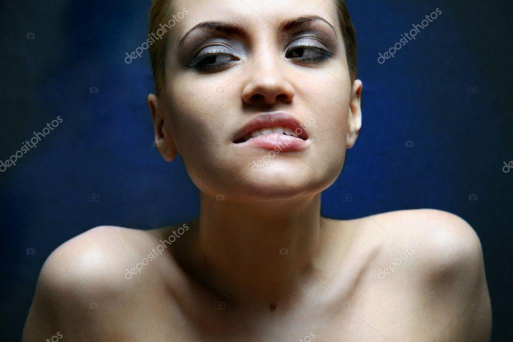 Portrait of beauty. Sexy sweet girl.  Stock Photo #2320236