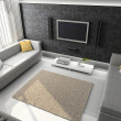 Stock Photo: 3d render modern interior