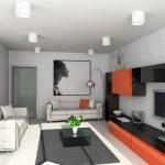 Modern interior. — Stock Photo #2517548