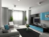 现代室内装饰. — 图库照片