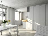 Interioir of modern living-room — Stock Photo