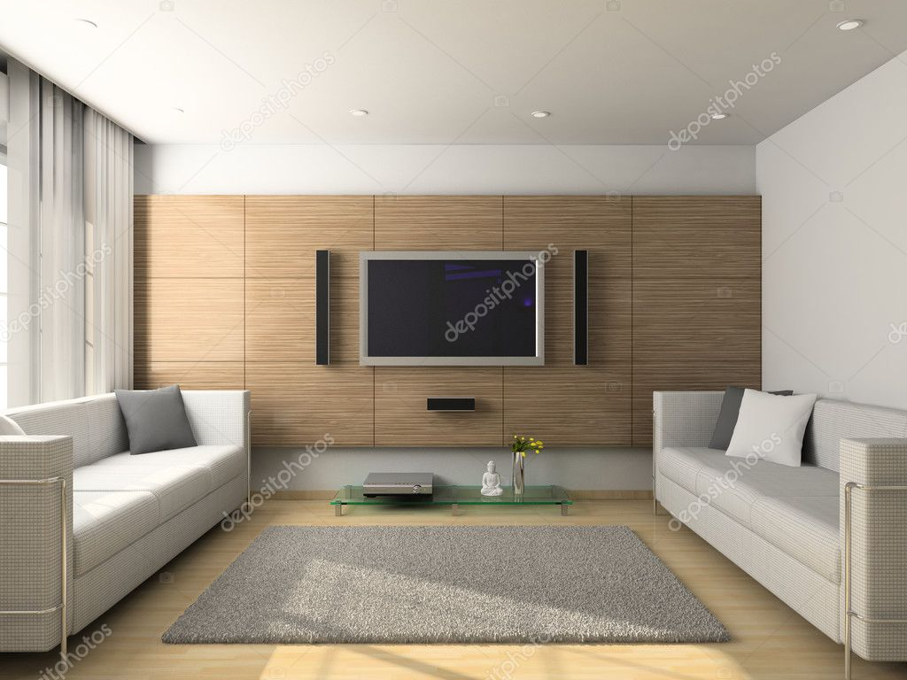 design wohnzimmer fotos:Living Room with Flat Screen TV