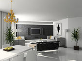 Modern home interior. — Stock Photo