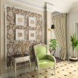 Classic design of interior — Stok Fotoğraf #2605055
