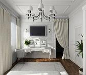 Classic design of interior — Stock Photo