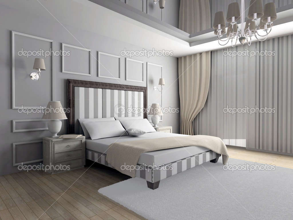 Klassiek ontwerp van interieur — stockfoto © egorrr #2605120