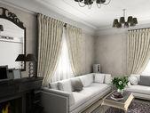Classic interior. — Stock Photo