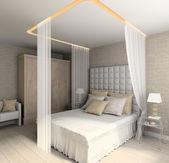 Modern interior. 3D render — Stockfoto