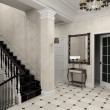 Hall with classic stair — Stock Photo #2645580