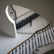 Round classical ladder in interior — Stock Photo