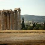 Temple of Zeus in Athens — Stock Photo