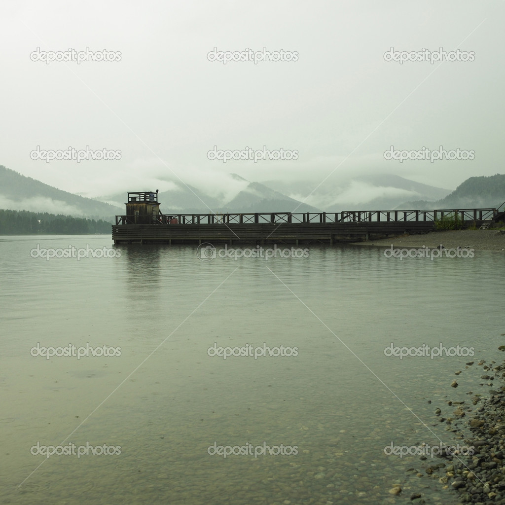 Republic Altai. Lake Teletskoe. Picturesque landscape — Stock Photo #2655338