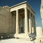 Erechtheion. Athens Acropolis — Stock Photo