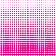Pink halftone background design — Foto Stock