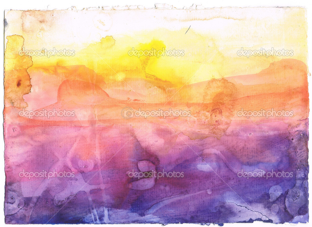 Abstract watercolor background. Art is created and painted by myself. — Stock Photo #2396862