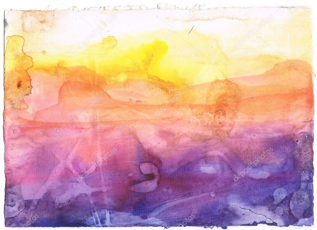 Abstract watercolor background. Art is created and painted by myself. — Foto Stock #2396862