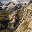 Dolomite alps, Sexten, Italy. — Stock Photo #2308290