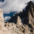 Rough cliffs in dolomite alps — Stock Photo #2308401