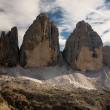 Royalty-Free Stock Photo: Tre cime di Lavaredo