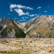 Stock Photo: Panoramin mt cook national park