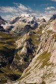 Dolomite alps, Sexten, Italy. — Stock Photo