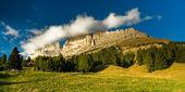 Rosengarten panorama — Stock Photo