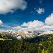 Scenic view over dolomite alps — Stock Photo