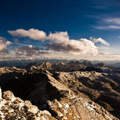 View from Piz Boe — Stock Photo