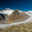 Aletsch glacier — Stock Photo #2326750