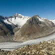 Aletsch glacier — Stock Photo