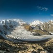 Bernina mountain range — Stock Photo