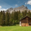 Wooden barn — Foto Stock