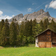 Wooden barn — Stockfoto