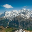 Stock Photo: Eiger, Moench, Jungfrau