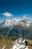 Eiger, Moench, Jungfrau — Stock Photo